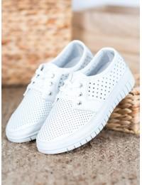Balti aukštos kokybės natūralios odos batai - K2019701BLA
