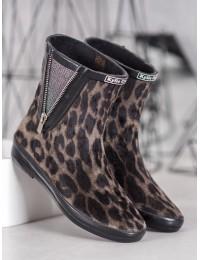 Stilingi guminiai batai padengti zomša - SY102TA