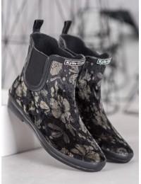 Stilingi guminiai batai padengti zomša - SY104G