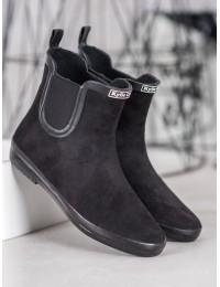 Stilingi guminiai batai padengti zomša - SY105NE