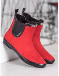 Stilingi guminiai batai padengti zomša - SY105RO