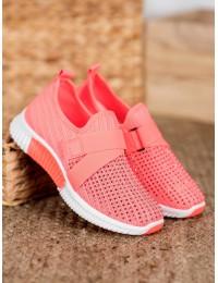 Rožinės spalvos stilingi sportiniai batai - G-326F
