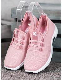 Rožinės spalvos sportiniai/ laisvalaikio bateliai - K2019901NU