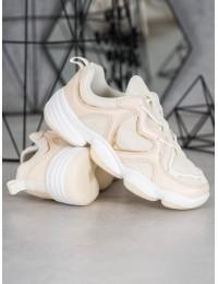 Stilingi originalūs smėlio spalvos batai - K2018102BE