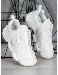 Stilingi originalūs baltos spalvos batai - K2018102BLA