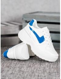 Madingi baltos spalvos batai su platforma - K1927501AZ
