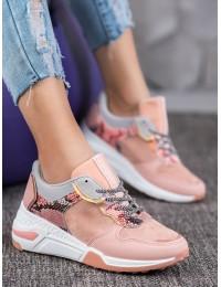 Madingi aukštos kokybės batai SNAKE PRINT - YL-37P