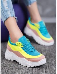 Spalvingi aukštos kokybės madingi batai - 902-3P
