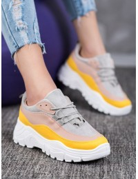 Spalvingi aukštos kokybės madingi batai - 902-3Y