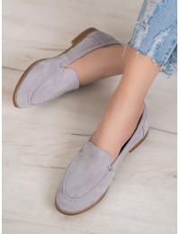 Stilingi minimalistinio stiliaus aukštos kokybės zomšiniai batai - T359G