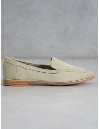 Stilingi minimalistinio stiliaus aukštos kokybės zomšiniai batai - T359GR