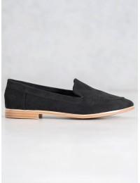 Stilingi minimalistinio stiliaus aukštos kokybės zomšiniai batai - T359B