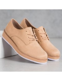 Retro stiliaus aukštos kokybės suvarstomi batai - TU143BE