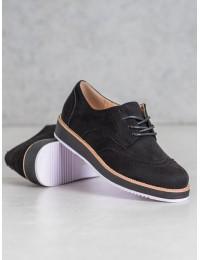 Retro stiliaus aukštos kokybės suvarstomi batai - TU143B