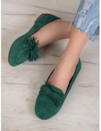 Stilingi gaivios žalios spalvos bateliai - 99-72GR