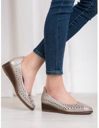 Klasikinio stiliaus batai su žema patogia platforma - XY20-10520GD