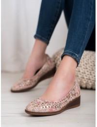 Klasikinio stiliaus batai su žema patogia platforma - XY20-10520FL
