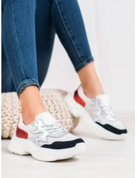 Natūralios odos sportinio stiliaus batai - DP1410/20W/R