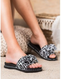Stilingos leopardo rašto šlepetės - GAN20-30103G
