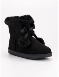 Juodi UGG stiliaus batai - LV57B