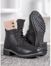 Juodi klasikinio stiliaus batai - 6062-1B
