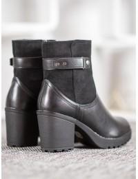Juodi klasikinio stiliaus batai - A8111B