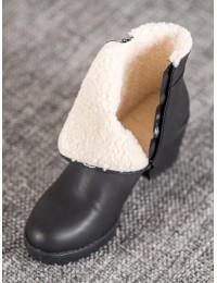 Juodi klasikinio stiliaus batai - S1822-1B