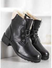 Juodi klasikinio stiliaus batai - S1843-1B