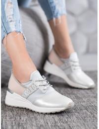 Aukštos kokybės juodi stilingi batai su natūralia oda - FT20-8686W/S