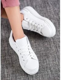 Visuomet stilingi balti suvarstomi bateliai - 85-428W