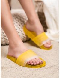 Geltonos guminės šlepetės - AMUNA500Y
