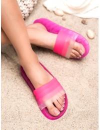 Rožinės guminės šlepetės - AMUNA500P