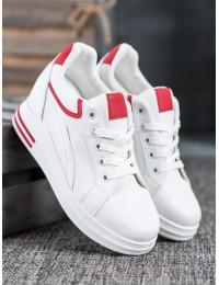 Stilingi balti batai su platforma - HY-231R