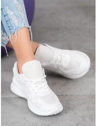Balti patogūs stilingi sportiniai bateliai - MS388W