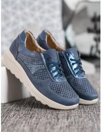 Lengvi patogūs mėlynos spalvos batai - YEHJ-085BL