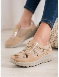Lengvi patogūs smėlio spalvos batai - YEHJ-085BE