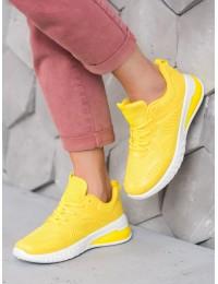 Ryškūs geltoni sportiniai bateliai - 3408Y