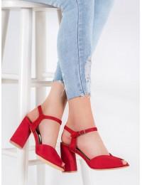 Klasikinio stiliaus elegantiškos raudonos spalvos basutės - DS1282/20R