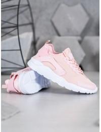 Rožinės spalvos aukštos kokybės madingi laisvalaikio stiliaus batai - F18808P