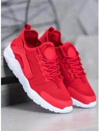 Raudonos spalvos aukštos kokybės madingi laisvalaikio stiliaus batai - F18808R