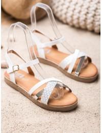 Stilingos baltos ir sidabro spalvos basutės - Y609S