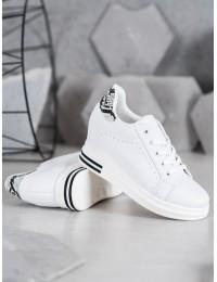 Baltos spalvos stilingi batai kasdienai - BY-0366W/SNA