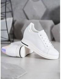 Baltos spalvos stilingi batai kasdienai - BY-0366W/S