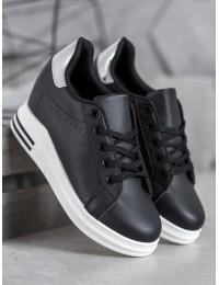 Juodos spalvos stilingi batai kasdienai - BY-0366B/S