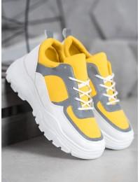 Madingi geltos spalvos batai - 902-1Y