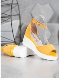 Aukštos kokybės geltonos spalvos basutės - Y617Y