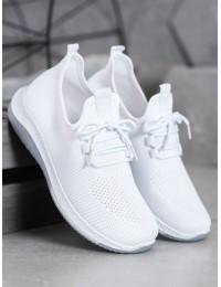 Baltos spalvos aukštos kokybės sportiniai bateliai - J110W