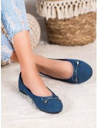 Elegantiški klasikinio stiliaus mėlyni bateliai - BLB20-1N