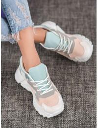 Aukštos kokybės SNEAKERS modelio batai su platforma  - BL196P