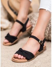 Klasikinio stiliaus juodos spalvos basutės - 20SD14-2065B